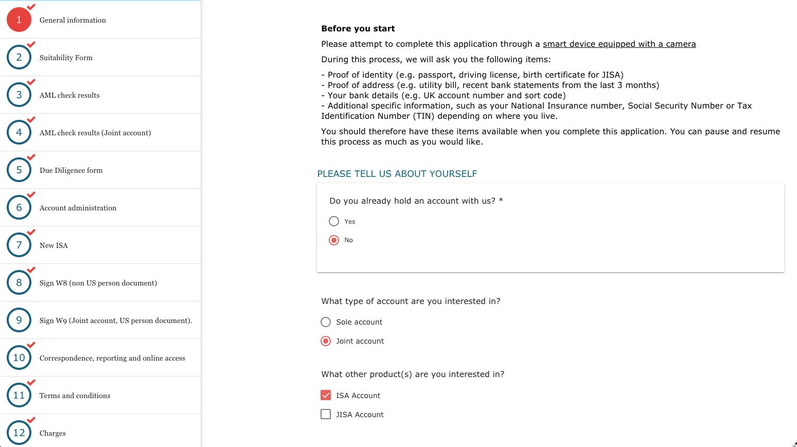 MyDocSafe client workflow for wealth management